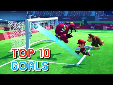 10 Amazing Goals - Mario & Sonic At The Olympic Games Tokyo 2020