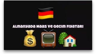 1. Bölüm Almanyada Maas ve Gecim Fiyatlari