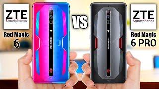 ZTE nubia Red Magic 6 VS ZTE nubia Red Magic 6 Pro l Comparison