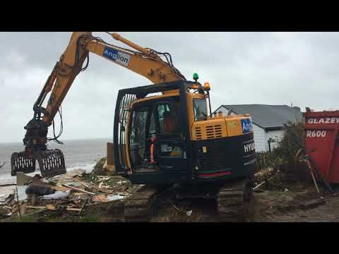 More homes demolished in Hemsby