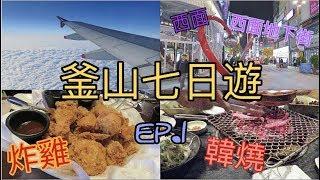 [釜山之旅] 韓國釜山七日遊 - DAY 1:Plaza Premium Lounge、西面、西面地下街、韓燒、炸雞、ARBAN HOTEL LO TV