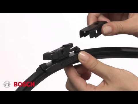 Bosch ICON: Top Lock Pivot Style Wiper Blade Installation