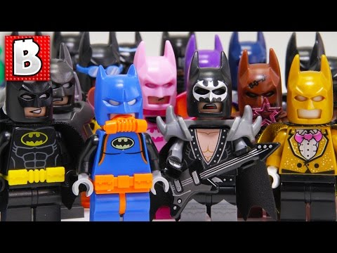 Every LEGO Batman Minifigure Ever Made!!! 2017 Collection Update!
