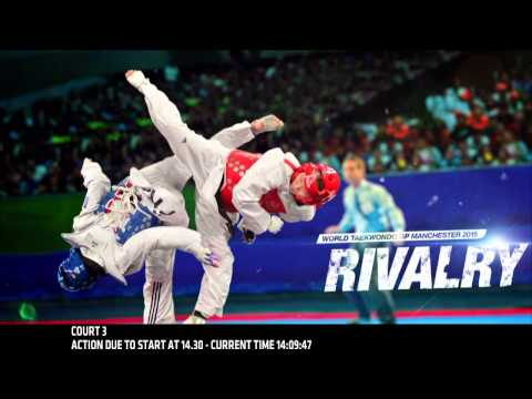 World Taekwondo Grand Prix - Manchester 2015 - Day 1 Ring 3 preliminary rounds F -67 / M -68 / M +80