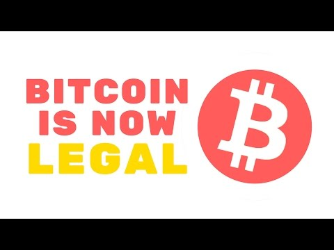 Bitcoin Is Now LEGAL!