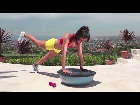 10-Min BOSU Ball Workout - BOSU Ball Exercises