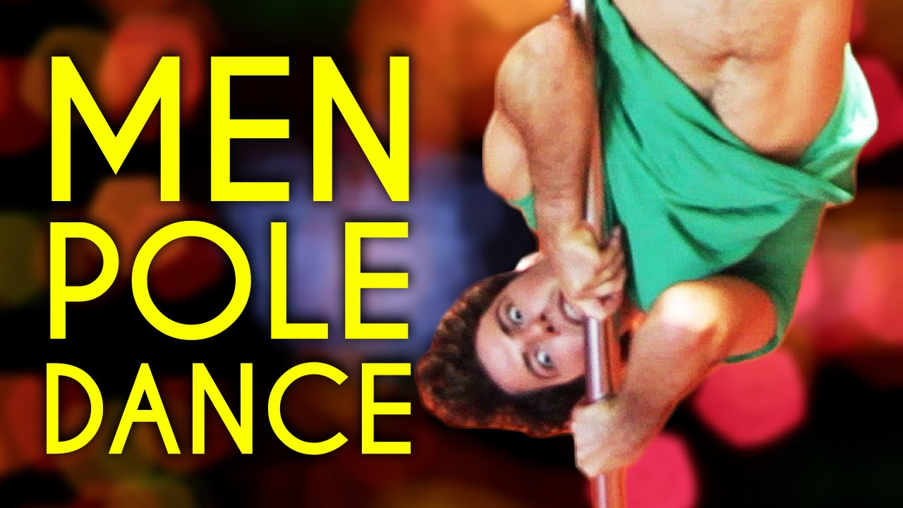 Guys Try Pole Dancing For The First Time - YouTube