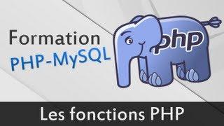 Les fonctions en PHP - Formation PHP MySQL #4
