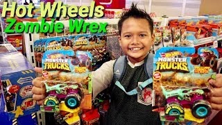 Hunting Hot Wheels Monster Truck Zombie Wrex