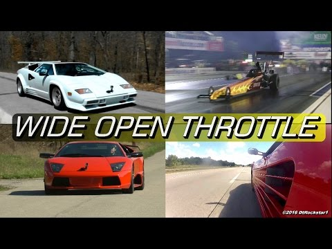 2016 WIDE OPEN THROTTLE Compilation