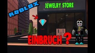 Roblox jailbreak breaking into the JEWELRY STORE