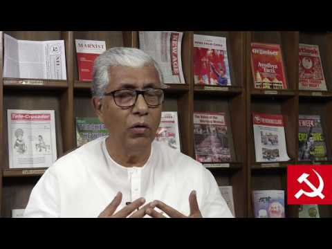 Comrade Manik Sarkar on Insurgency in Tripura and Achievement of the Left