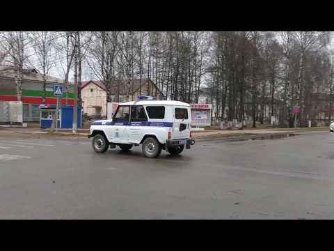 Носители погон позорят полицию, встречка, ближний свет, ремень. г. Пестово