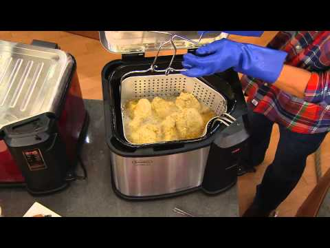 Butterball XXL Digital 22 lb. Indoor Electric Turkey Fryer by Masterbuilt with Mary Beth Roe