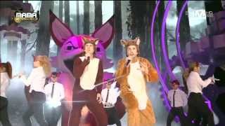 일비스(Ylvis) - The Fox at 2013 MAMA thumbnail