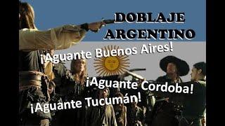 Piratas del Caribe - Doblaje argentino (Fedebpolito)