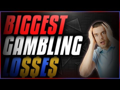 THE BIGGEST CSGO GAMBLING LOSSES EVER!