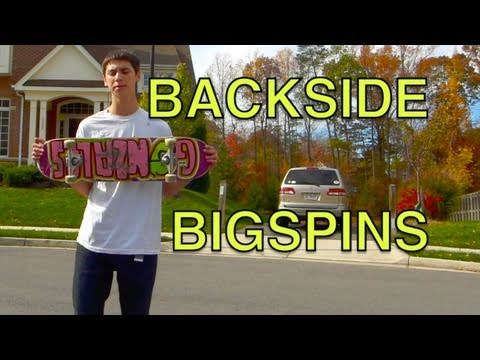 How To Backside Bigspin Trick Tip