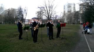 Ах, Одесса, жемчужина у моря(23 апреля на субботнике в Воронцовском парке выступил духовой оркестр FV Brass, который исполнил любимые всеми..., 2016-04-25T05:13:10.000Z)