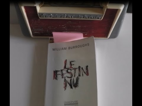 """LE FESTIN NU""   WILLIAM BURROUGHS   (PAR MANU)"