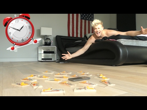 Thumbnail: ALARM CLOCK PRANK ON JAKE!!!! (PRANK WARS)