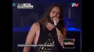30 Seconds to Mars - CITY OF ANGELS - Luna Park, Argentina