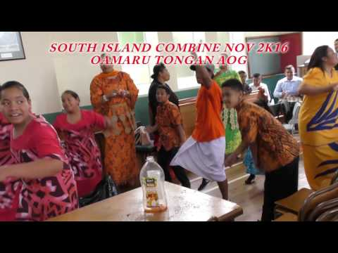 """TONGAN AOG IN NZ SOUTH ISLAND COMBINE """" WALK ON THE WATER"""""""