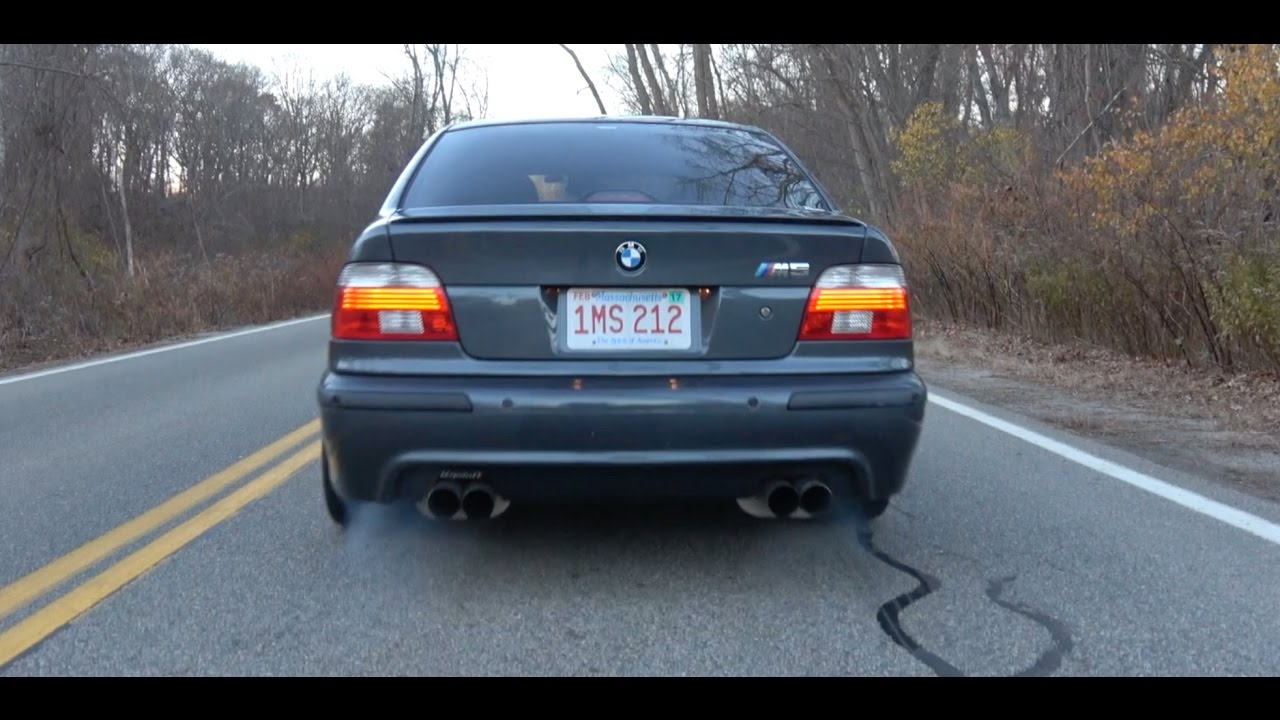 Mildly Modded M5- 2001 BMW e39 M5 - YouTube