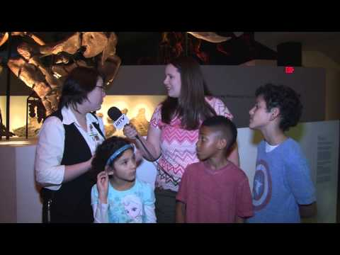 Julie's Kids and Toys traveled to The Houston Museum of Natural Science