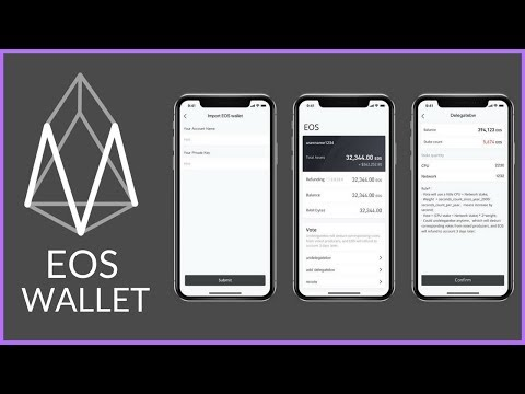 EOS Wallet | Meet.One, EOSIO.SG, EOS Cannon & EOS Nation Created An EOS Wallet For Voting | POMELO