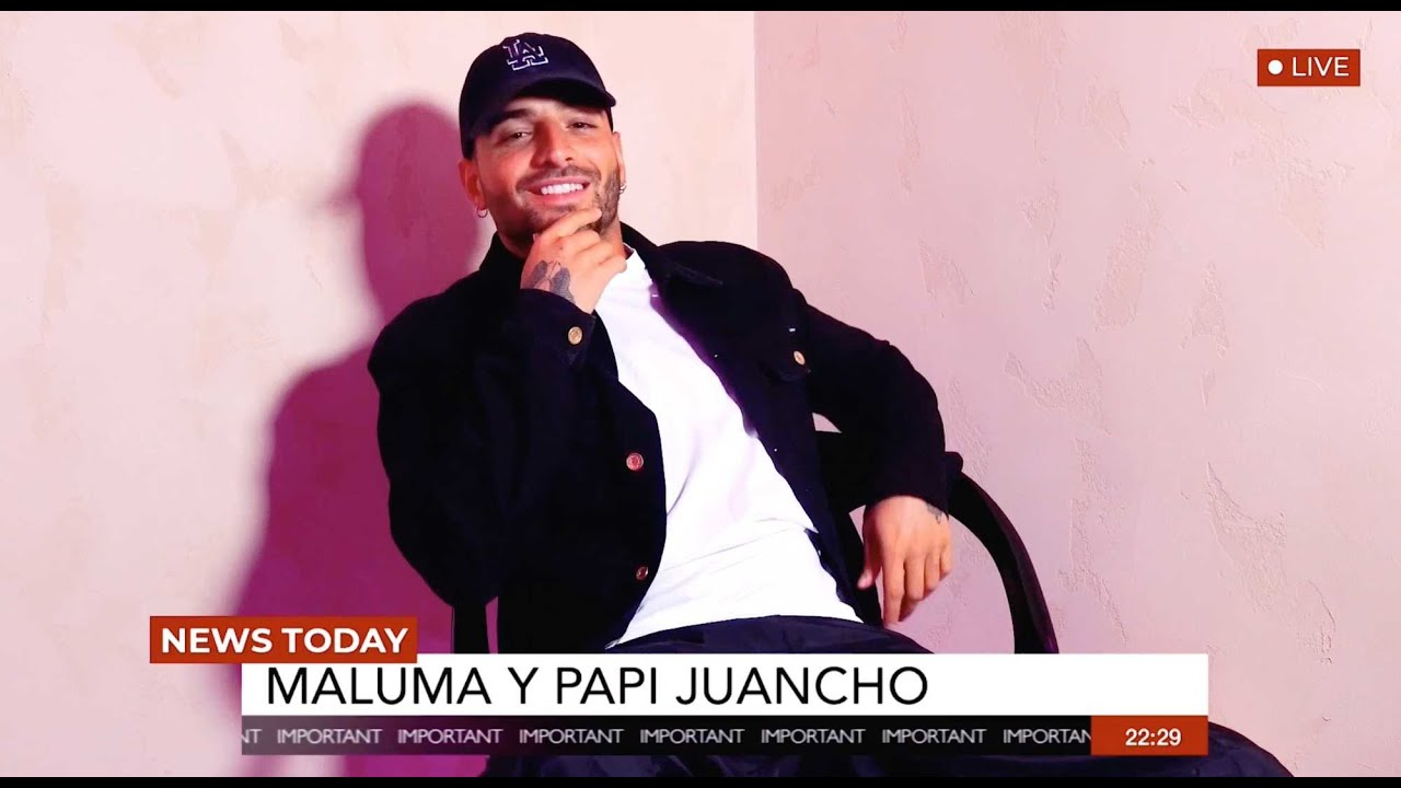 Maluma Talks to Papi Juancho (Interview)