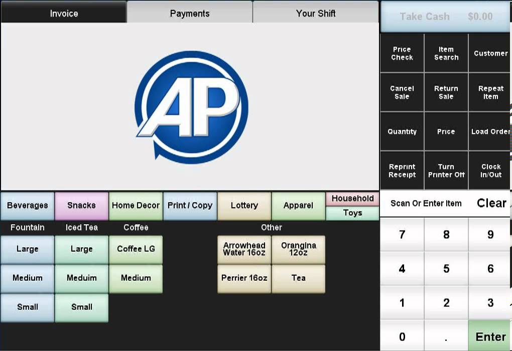 Retail POS Video 08 - Entering a Credit Card Number