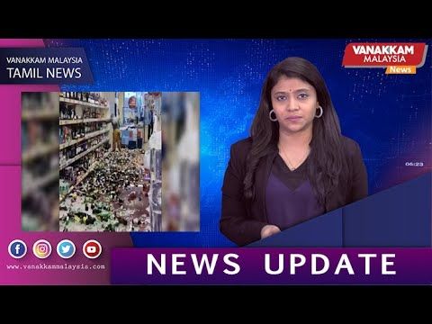 27/11 MALAYSIA TAMIL NEWS: Woman smashes more than 500 alcohol bottles in  supermarket