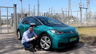 Volkswagen ID.3 tesztvezetés Kelemen Lászlóval