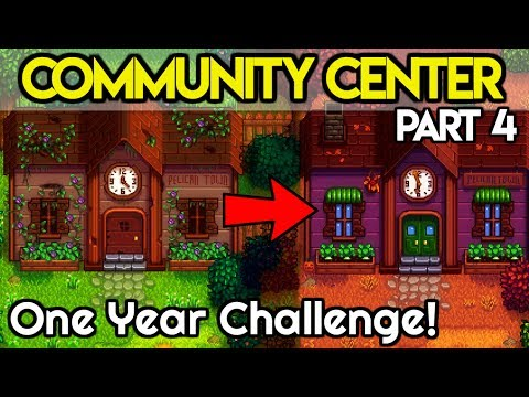 🏆Community Center ONE Year Challenge #4🏆- *DAMN CATFISH!* - Stardew Valley