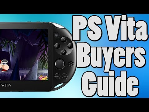 PS Vita Buyers Guide 2018 | PS Vita 2017-2018