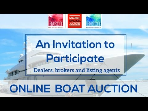How to Successfully Sell Stock Boats at an Online Boat Auction