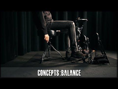 JamesPayneDrums.com - Balance on drums drum lesson preview