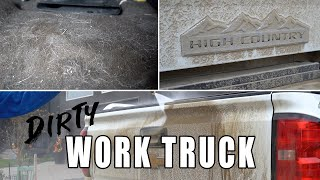 Dirty Truck Detail | Complete Interior Exterior Car Detailing of a Dirty Work Truck!