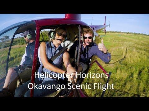 Helicopter Horizons - Okavango Delta Scenic Flight. Botswana