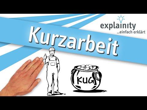 Kurzarbeit/Kurzarbeitergeld einfach erklärt