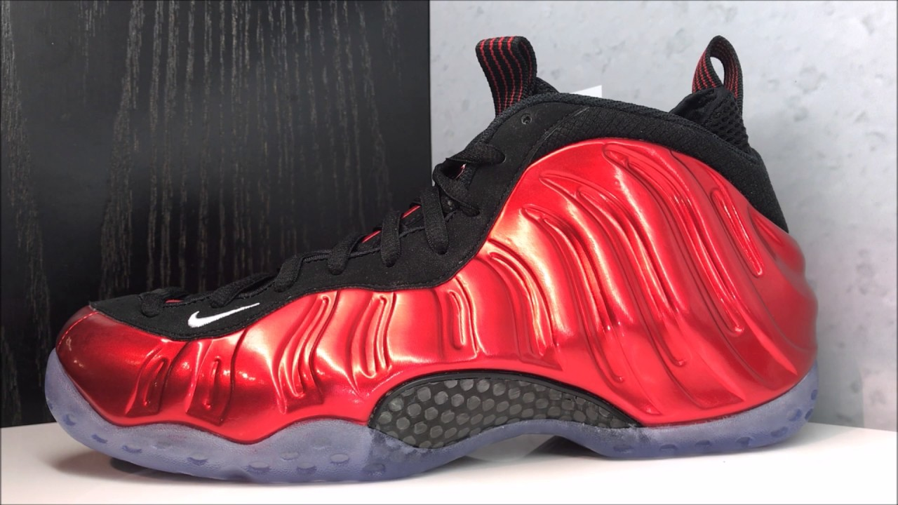 wholesale dealer 962fd e3916 Nike Air Foamposite One Metallic Varsity Red 2017 Retro Sneaker Review
