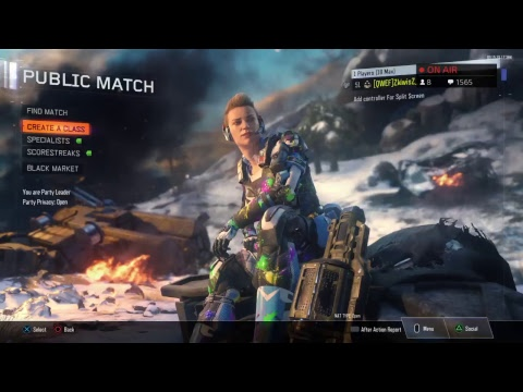 BEST FEMALE BLACK OPS 3 PLAYER EVER!! (In My Dreams...)
