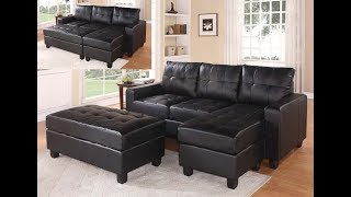 Reversible Chaise Sectional Sofa