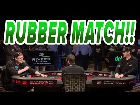 Hellmuth VS Tonkaaaap RUBBER MATCH | Match 2 Round 3 - King of the Hill 2