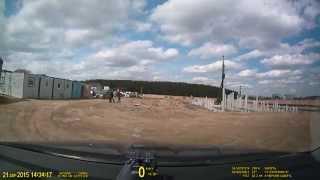 Забивка свай в Свердловской области в г.Сысерть.(На видео показано как наша компания производит забивание железобетонных свай С100.30-11 (длина 10 метров, сечени..., 2015-04-22T04:59:20.000Z)