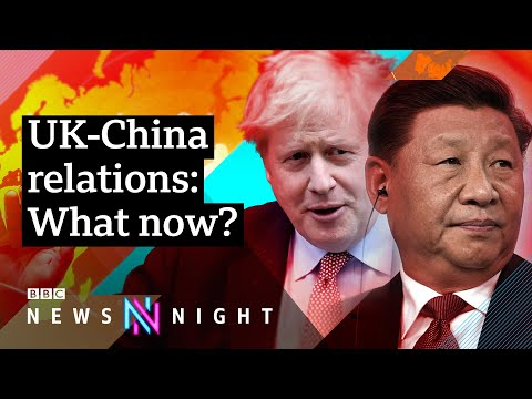 UK-China relations: A