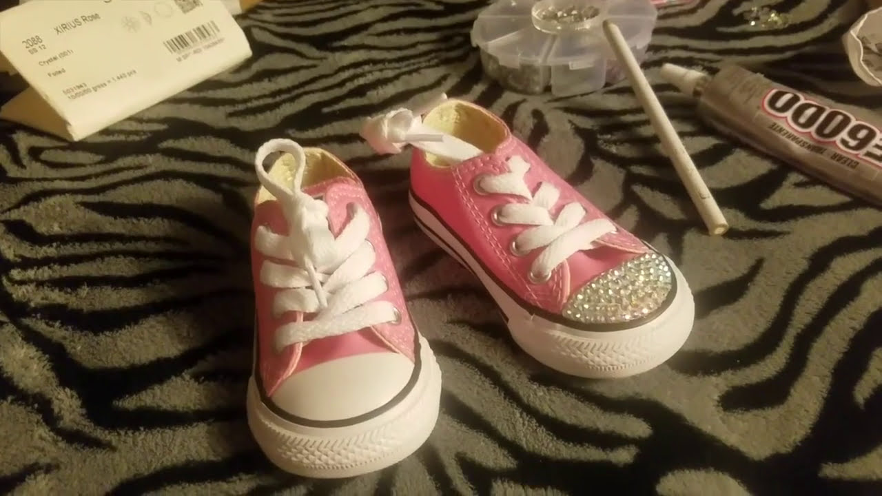 How to Bling Converse Shoes f45b04267