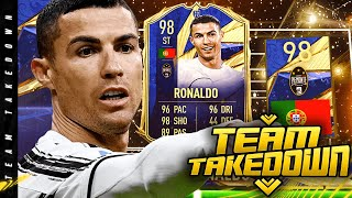 FIRST OWNER TOTY CRISTIANO RONALDO TEAM TAKEDOWN!!!