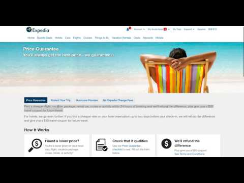 Travel Hack: Save $50 PER NIGHT on hotels booked at Expedia